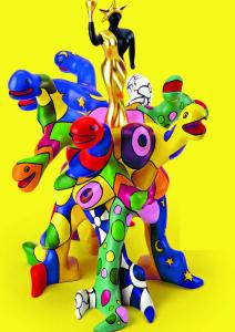 Sculpure Niki de St Phalle pour site